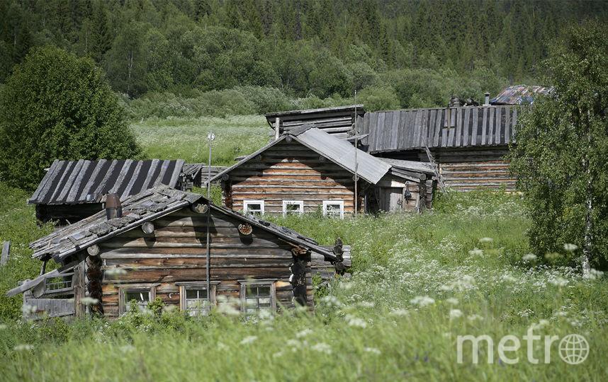 Заброшенная деревня Ура. Фото предоставлено WWF