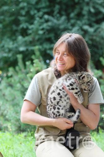 Директор Ленинградского зоопарка Ирина Скиба. Фото vk.com/spbzoopark, vk.com