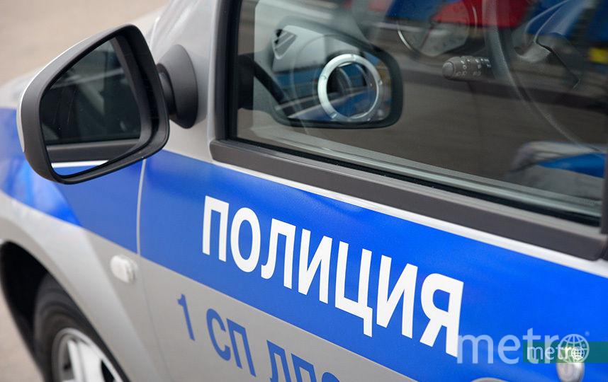 Грузовик сбил полицейского и дорожного рабочего на МКАД. Фото Василий Кузьмичёнок