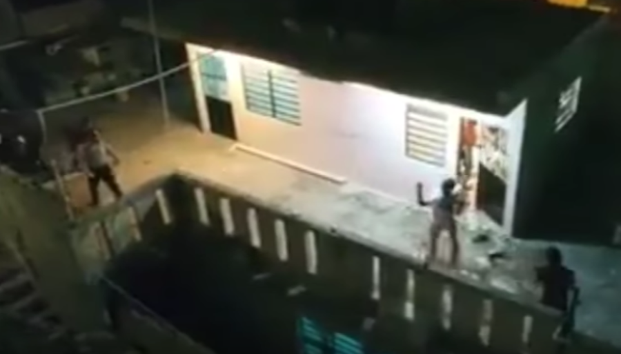 Нападение на дом Макеева. Фото Скриншот Youtube