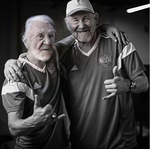 Сергей Шнуров и Семён Слепаков. Фото instagram.com/slepakovsemyon