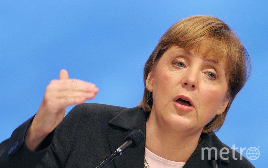Ангела Меркель в 2003 году. Фото Getty