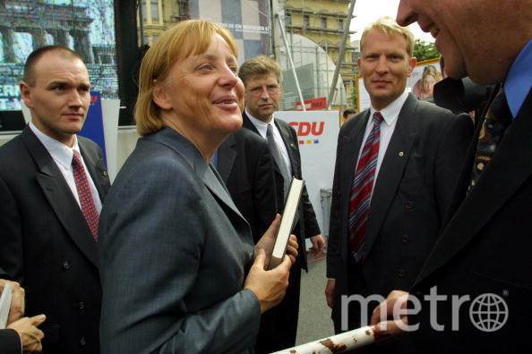 Ангела Меркель в 2001 году. Фото Getty
