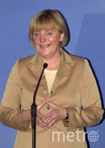 Ангела Меркель в 2002 году. Фото Getty