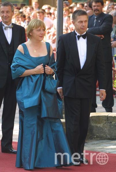 Ангела Меркель в 2003 году на Байройтском фестивале. Фото Getty