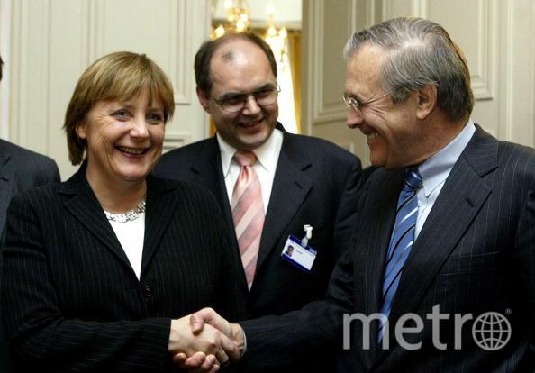 Ангела Меркель в 2004 году. Фото Getty