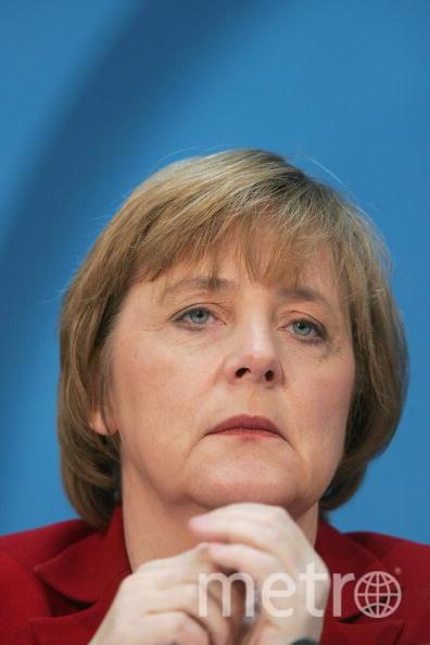 Ангела Меркель в 2005 году. Фото Getty