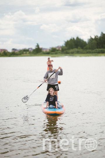 Сап-сёрфинг... Фото Кирилл Умрихин