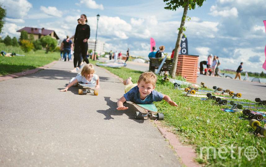 Дети веселились вместе со взрослыми... Фото Кирилл Умрихин