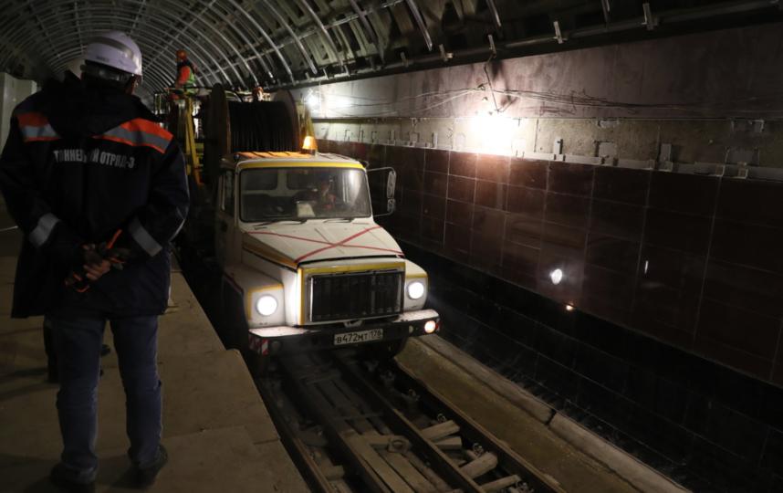 """Проспект Славы"", фото - апрель 2019 год. Фото gov.spb.ru, ""Metro"""