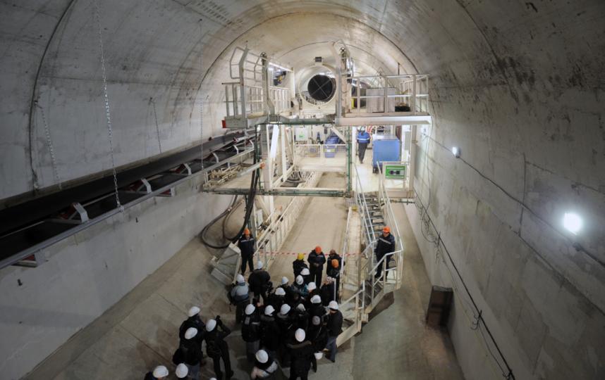 "Начало строительства станций. Фото gov.spb.ru, ""Metro"""