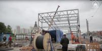 Появилось видео со строящихся станций