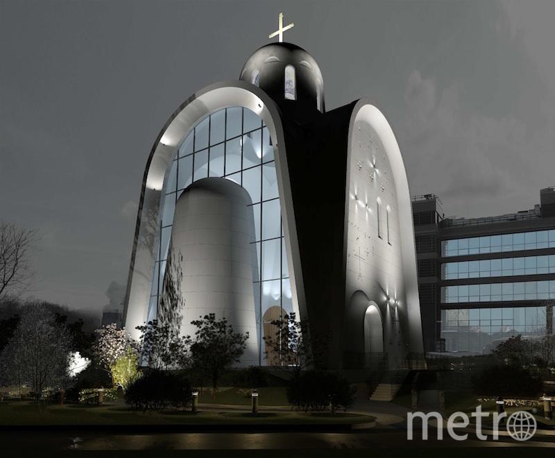 Проект. Фото предоставлено пресс-службой Москомархитектуры