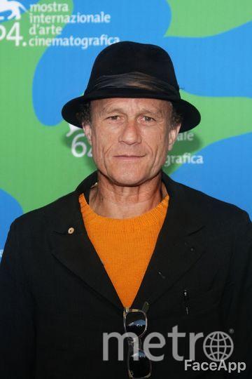 Как бы выглядел Леджер в старости. Фото обработано через приложение FaceApp, Getty