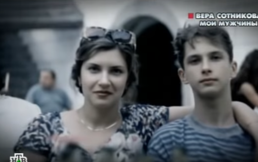 Вера Сотникова в молодости. Фото Скриншот Youtube