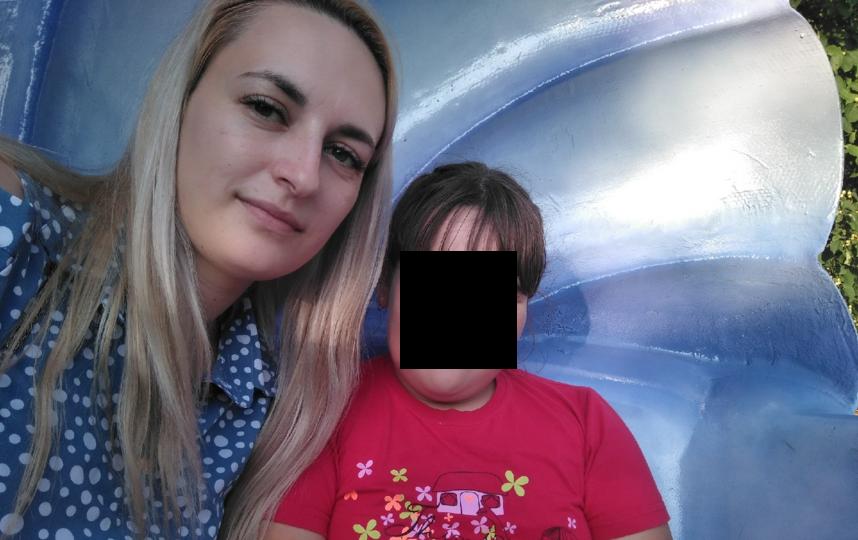 Фотография сделана после того, как Наталья забрала девочку у отца. Фото предоставила Наталья Ш.