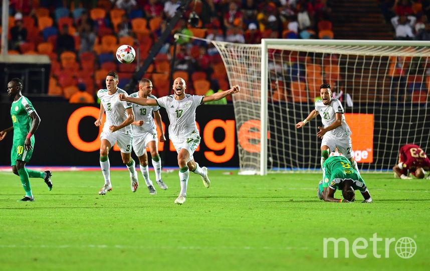 В финале Кубка Африки Алжир с минимальным счётом одолел Сенегал. Фото AFP