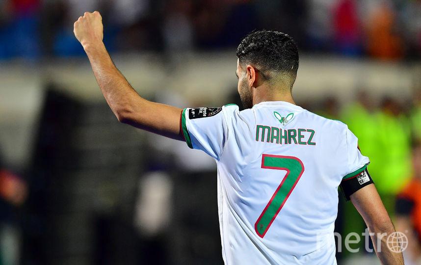 Лидер сборной Алжира Рияд Марез. Фото AFP