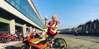 На московском этапе соревнований по мотогонкам девушка бросит вызов мужчинам