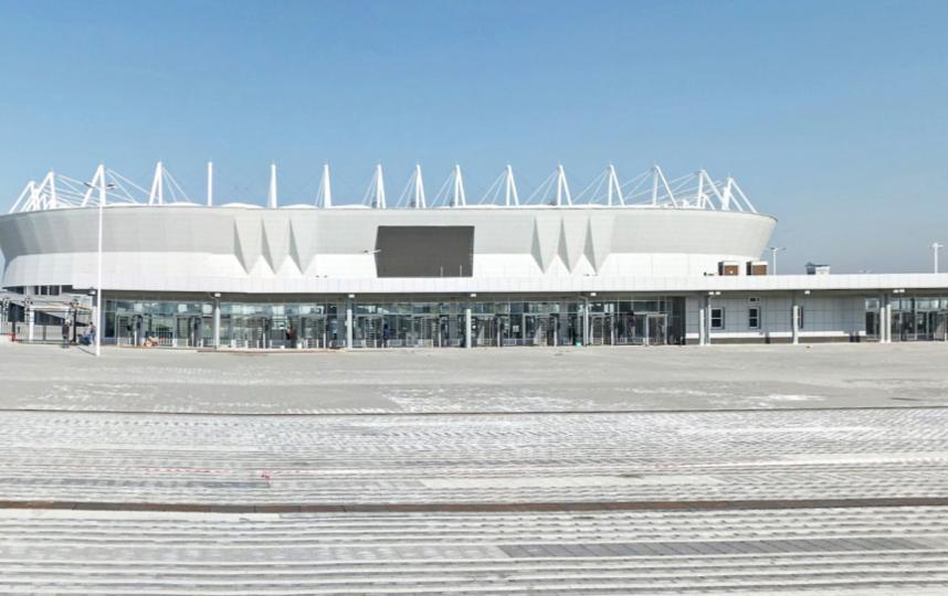 «Ростов Арена». Фото скриншот Яндекс.Панорамы