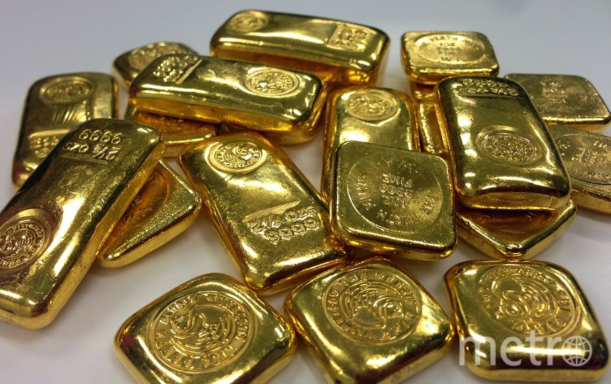 Стоимость золотых слитков оценивается в 5 млн долларов. Архивное фото. Фото pixabay.com