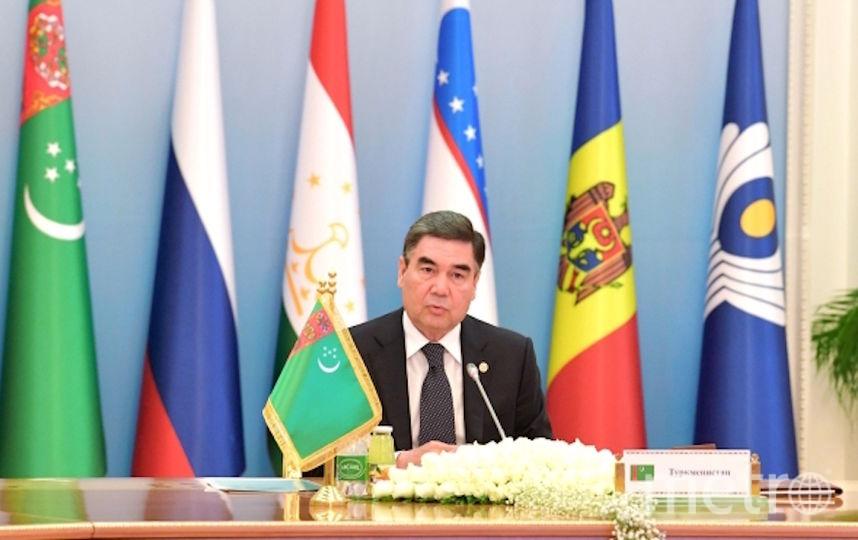 Президент Туркменистана Гурбангулы Бердымухамедов. Фото РИА Новости