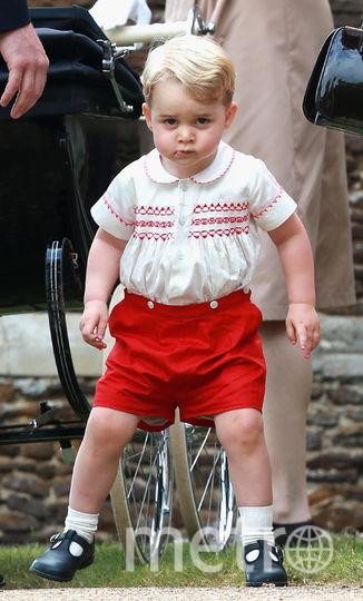 Принц Джордж, июль 2015 года. Фото Getty