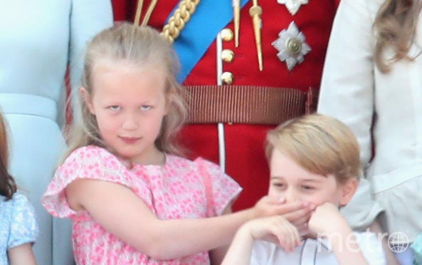 Саванна Филлипс и Принц Джордж, 2018 год. Фото Getty