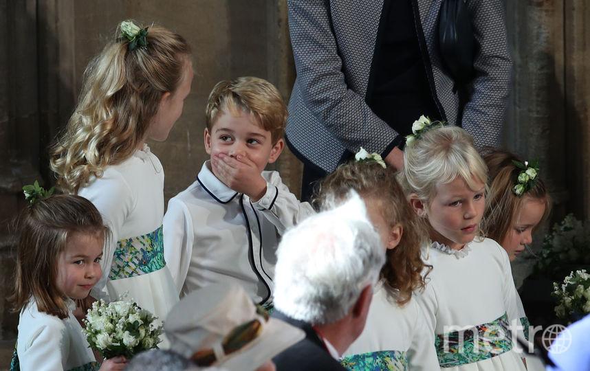 Принц Джордж, октябрь 2018 года. Фото Getty