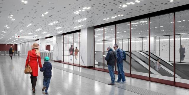"Проект станции ""Стромынка"" БКЛ."