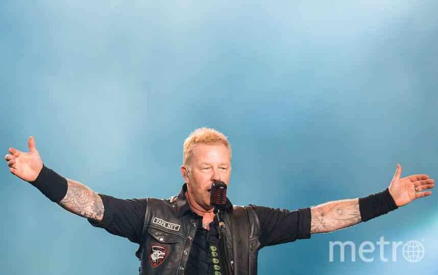 Metallica. Фото Getty