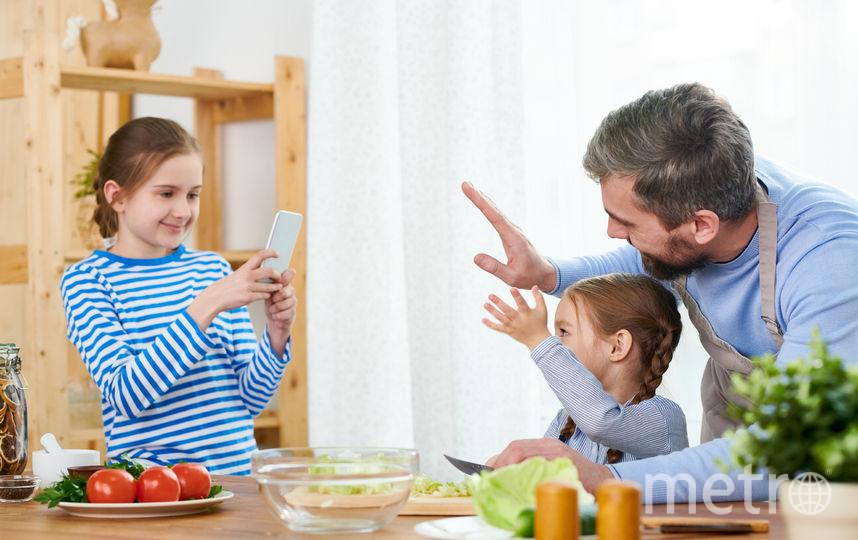 Занятие видеоблогингом может оказаться по-настоящему полезным для детей, если вести его осознанно и по всем правилам. Фото Depositphotos