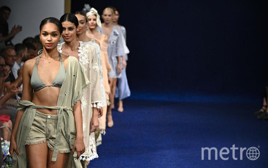Выставка пляжной моды в Италии. Фото Getty