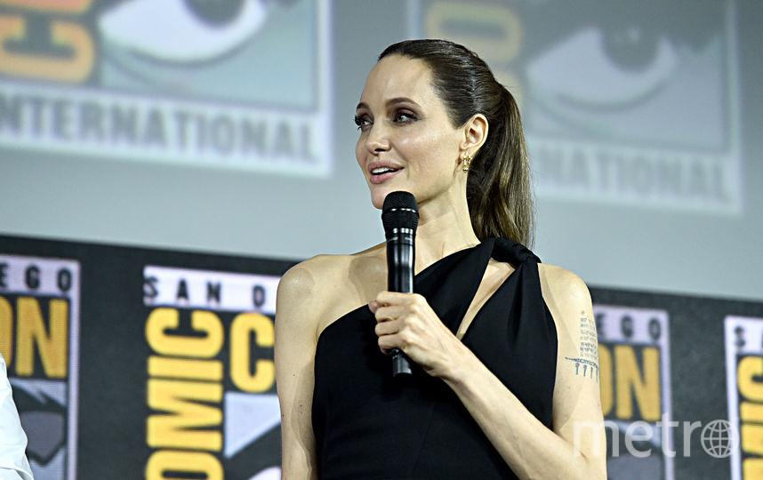 """Анджелина Джоли снимется в фильме """"Вечные"""". Фото AFP"""