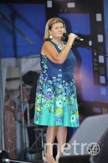 Ирина Муравьёва на сцене. Фото Борис Кремер, Предоставлено организаторами