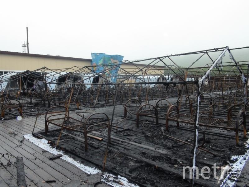 Место ЧП. Фото ГУ МЧС России по Хабаровскому краю