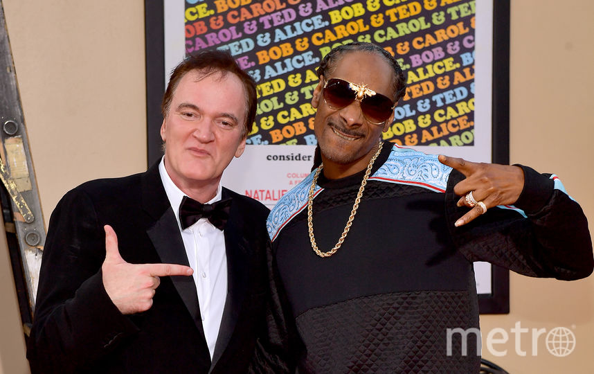 Режиссёр Квентин Тарантино и рэпер Snoop Dogg. Фото Getty