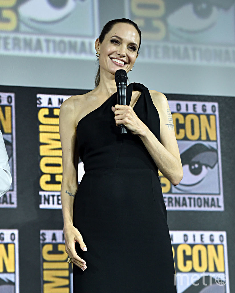 Comic-Con-2019. Анджелина Джоли. Фото Getty