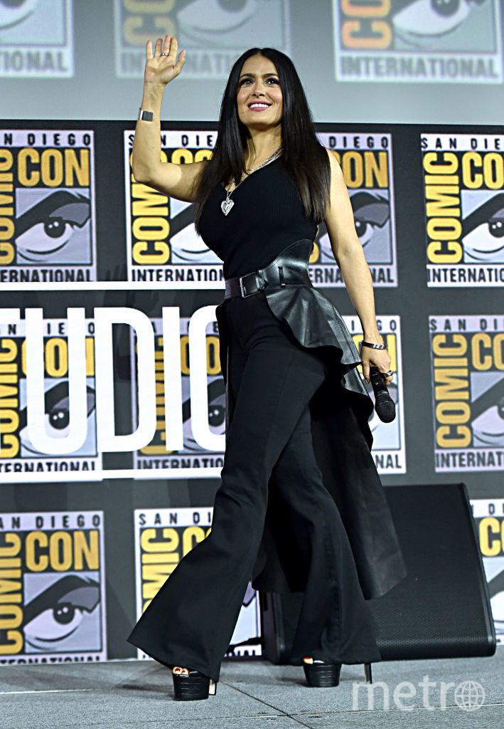 Comic-Con-2019. Сальма Хайек. Фото Getty