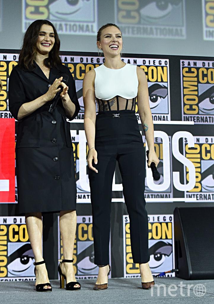 Comic-Con-2019. Рейчел Вайс и Скарлетт Йоханссон. Фото Getty