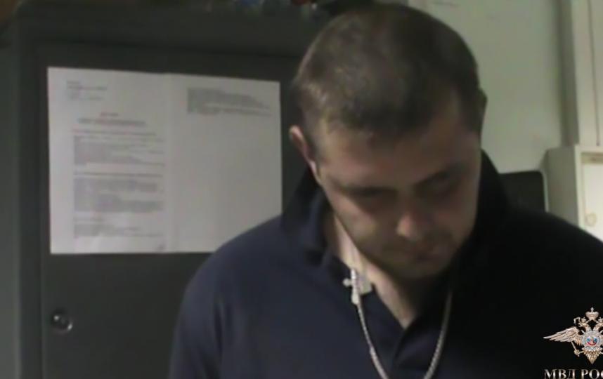 скриншот видео МВД.
