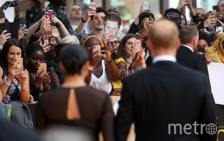 """Меган и Гарри на премьере """"Короля Льва"""". Фото Getty"""