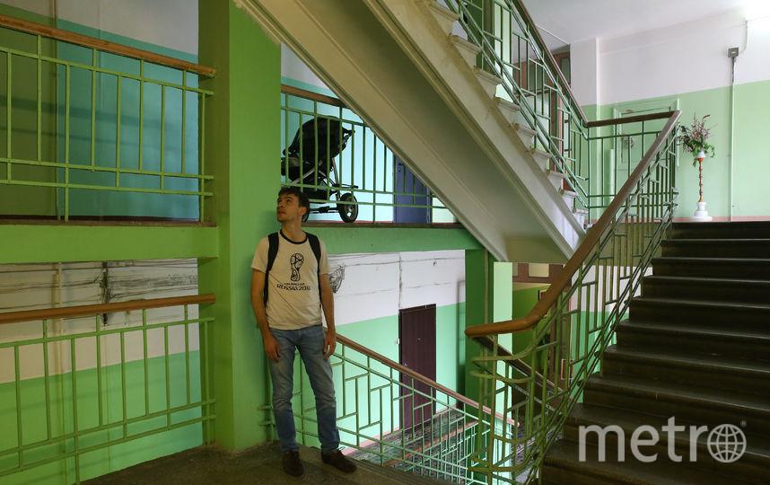 Изнутри дом напоминает гостиницу или общежитие. Фото Василий Кузьмичёнок