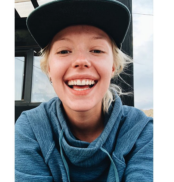 Виктория Агалакова, фотоархив. Фото скриншот https://www.instagram.com/agalakovavika/