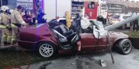 Машина полыхнула: О смертельной аварии с BMW на Суздальском рассказали очевидцы