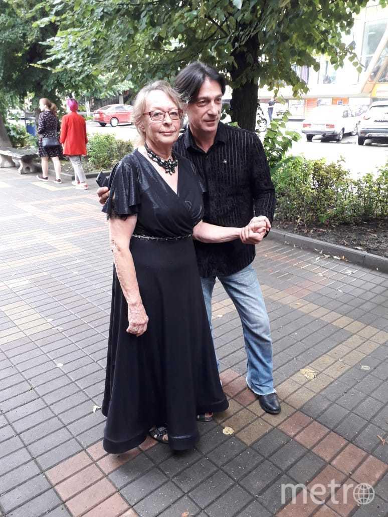 """Вера Холодная (Гилберт) и Эвклид Кюрдзидис. Фото Мария Позина., """"Metro"""""""