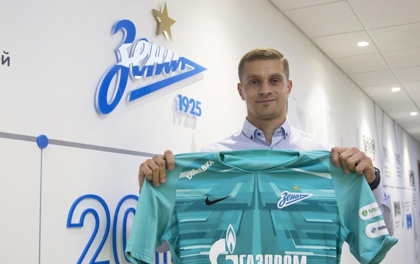 "Вратарь Александр Васютин вернулся в ""Зенит"". Фото Скриншот @zenit_spb"