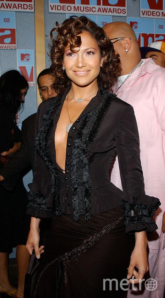 Дженнифер Лопес обожает эпатажные и откровенные платья. 2000-е. Фото Getty