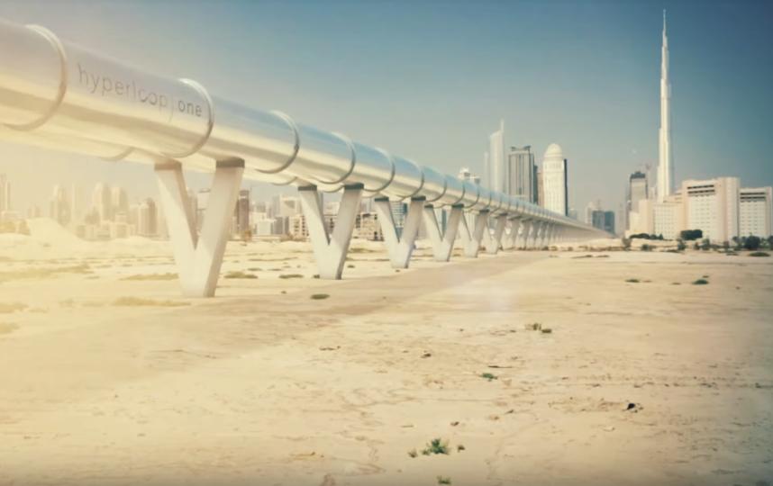 Правительство Саудовской Аравии подписало соглашение с компанией Virgin Hyperloop One. Фото Скриншот https://www.youtube.com/watch?v=uuEoX6LJAGc, Скриншот Youtube
