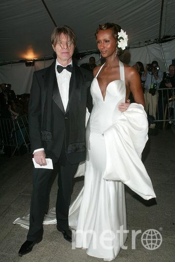 Иман и Дэвид Боуи. Фото Getty
